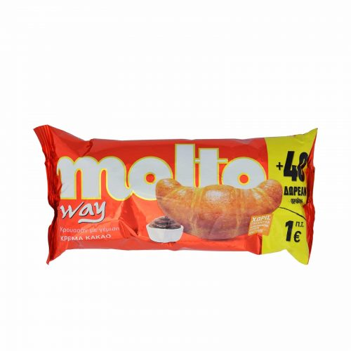 Molto Croissants Cocoa / Κρουασάν Κακάο 110g