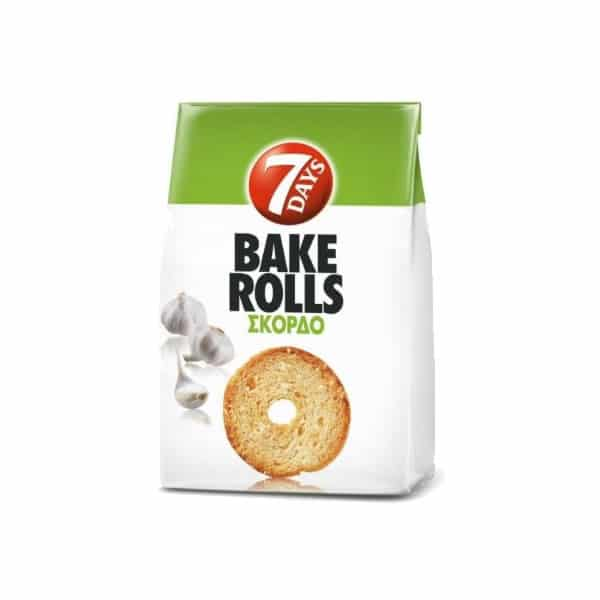 7days bake rolls garlic σκόρδο