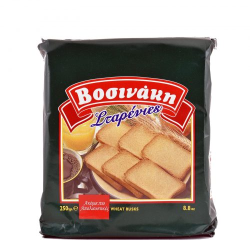 Vosinaki Wheat Rusks / Βοσινάκη Φρυγανιές Σίτου 250g