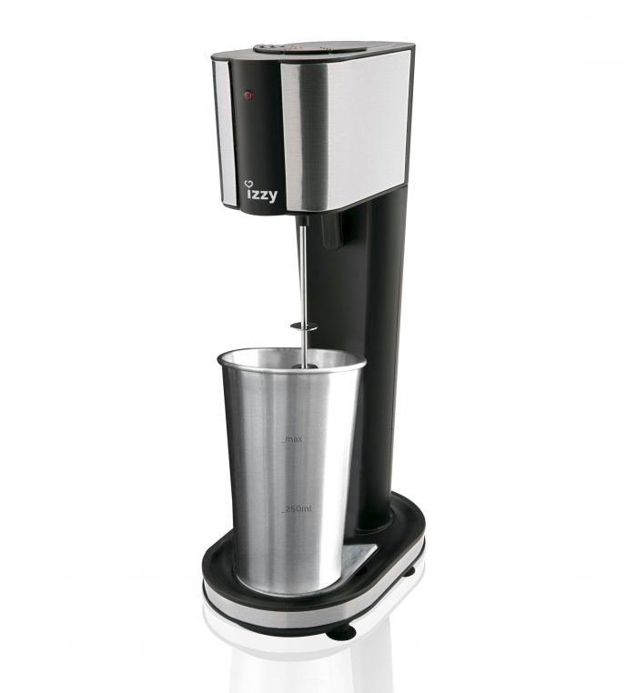 Greek Frappe Machine Inox Black Premium /Izzy Drink Mixer Xtreme