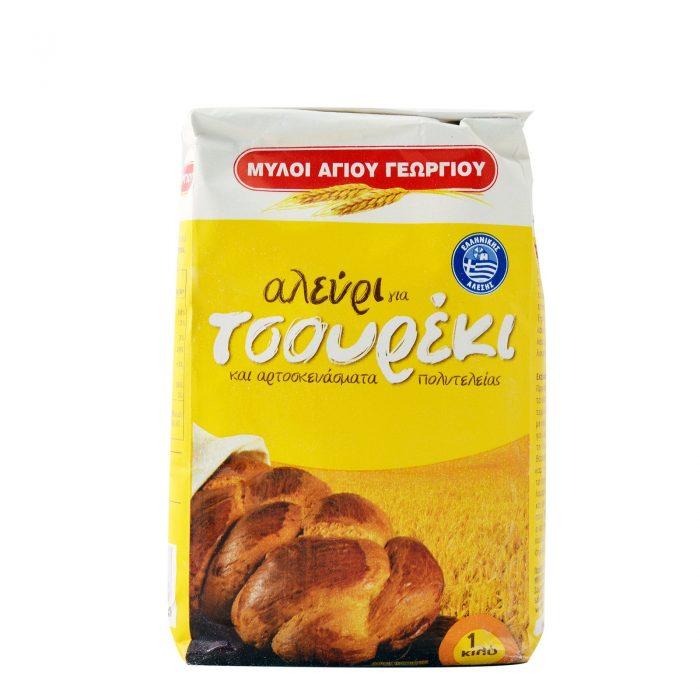 Myloi Agiou Georgiou Flour Brioche / Αλεύρι για τσουρέκι