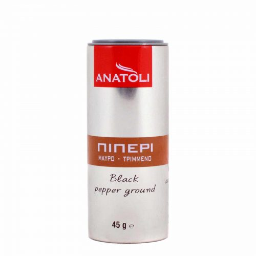 Anatoli Ground Black Pepper / Ανατολή Πιπέρι μαύρο τριμμένο 45g