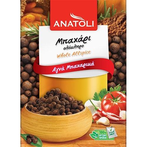 Anatoli Whole Allspice / Ανατολή Μπαχάρι Ολόκληρο 30g