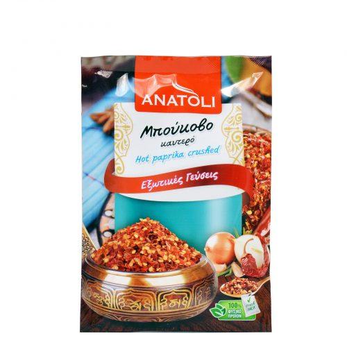 Anatoli Hot Crushed Paprika / Ανατολή Μπούκοβο Καυτερό 35g