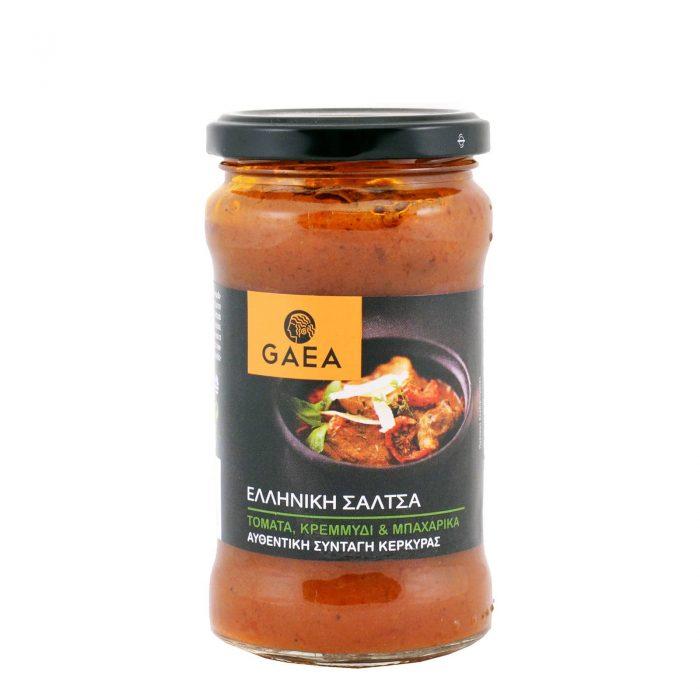 Gaea Tomato Sauce with Onion & Spices / Σάλτσα Με Τομάτα, Κρεμμύδι & Μπαχαρικά 280g