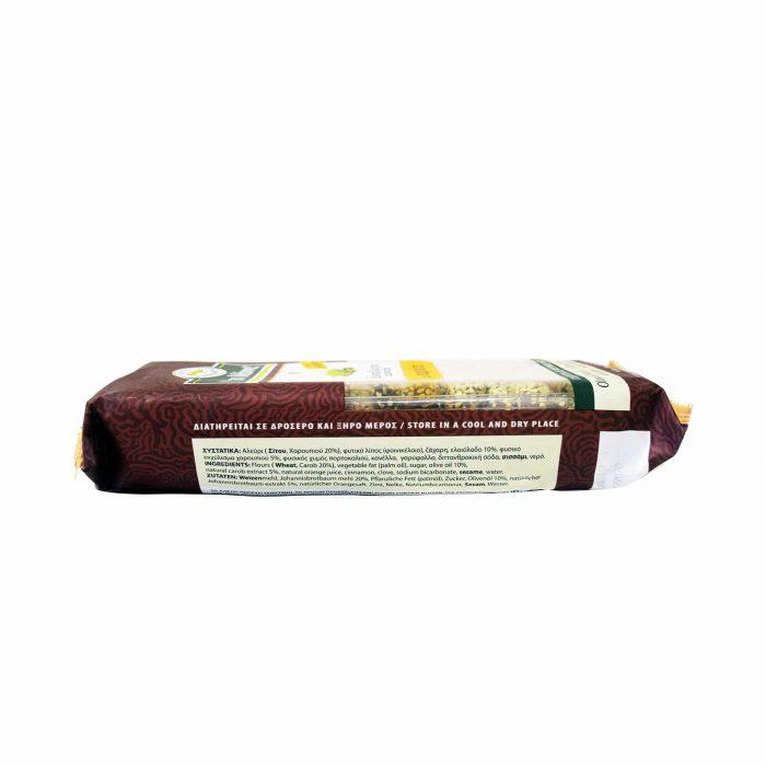 Manna Olive Oil Biscuits with Carob / Μάννα Λαδοκούλουρο με Χαρούπι 170g
