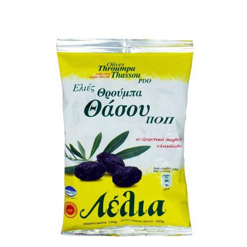 Lelia Olives from Thassos / Λέλια Ελιές Θάσου ΠΟΠ 150g