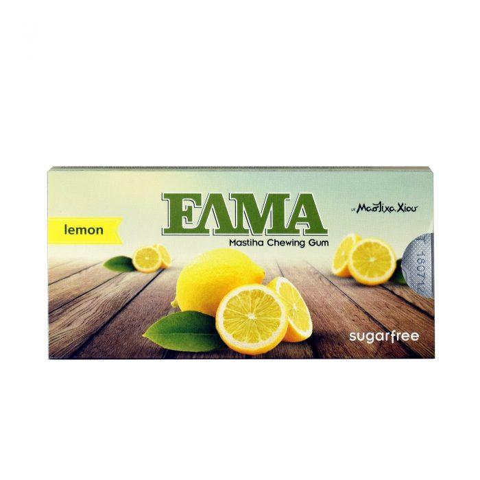 Elma Gum Lemon / Τσίκλες Λεμόνι χωρίς Ζάχαρη 14g