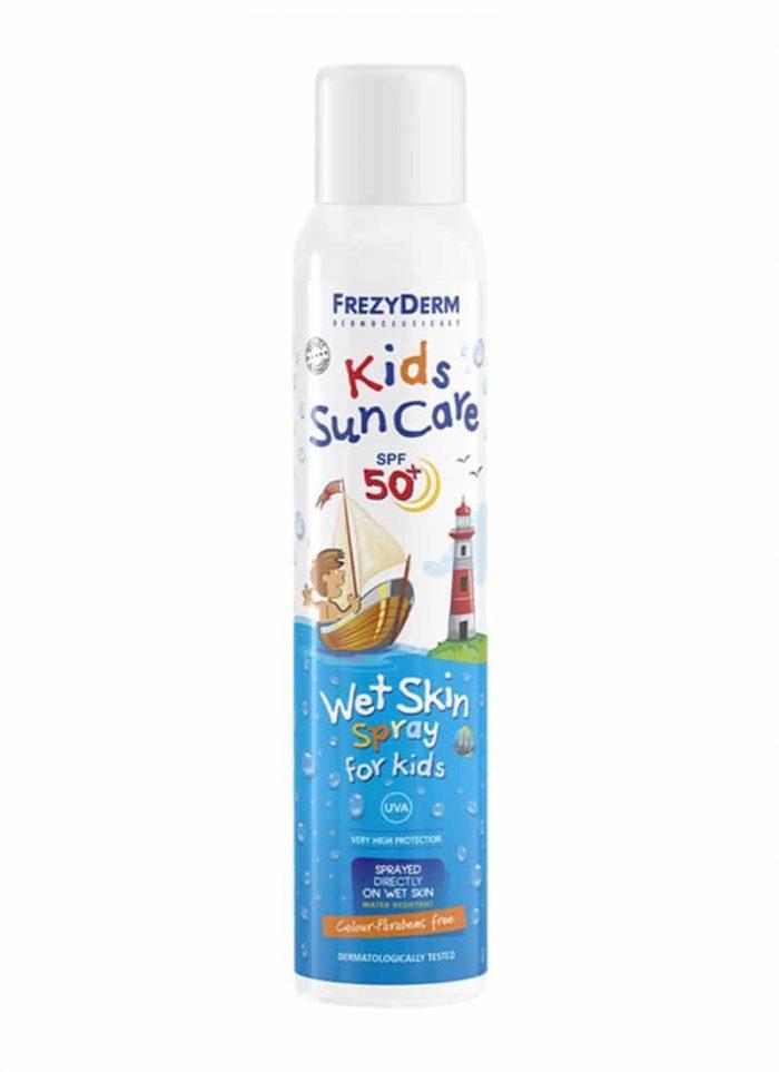 Frezyderm Kids Wet Skin Spray Sun Cream SPF 50+ / Παιδικό Αντηλιακό Σπρέι 200ml