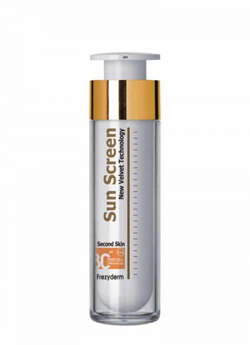 Frezyderm Velvet Face Sun Cream SPF 30 / Αντηλιακο Προσώπου 30ml