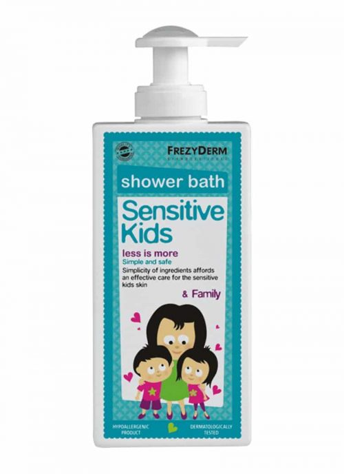 Frezyderm Sensitive Kids Shower Bath / Παιδικό Αφρόλουτρο 200ml