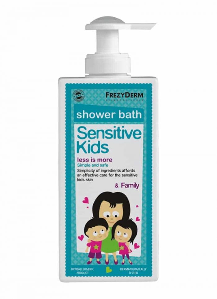 Frezyderm Sensitive Kids Shower Bath / Παιδικό Αφρόλουτρο 200ml