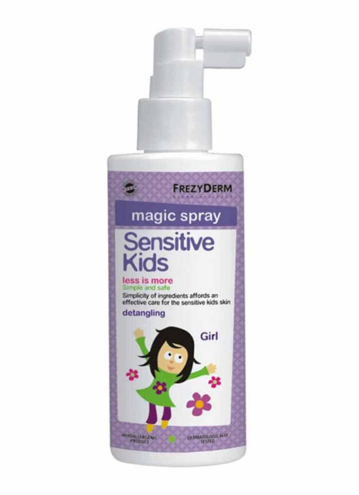 Frezyderm Sensitive Kids Magic Spray / Παιδικό Σπρέι για Ξέμπλεγμα Μαλλιών 150ml