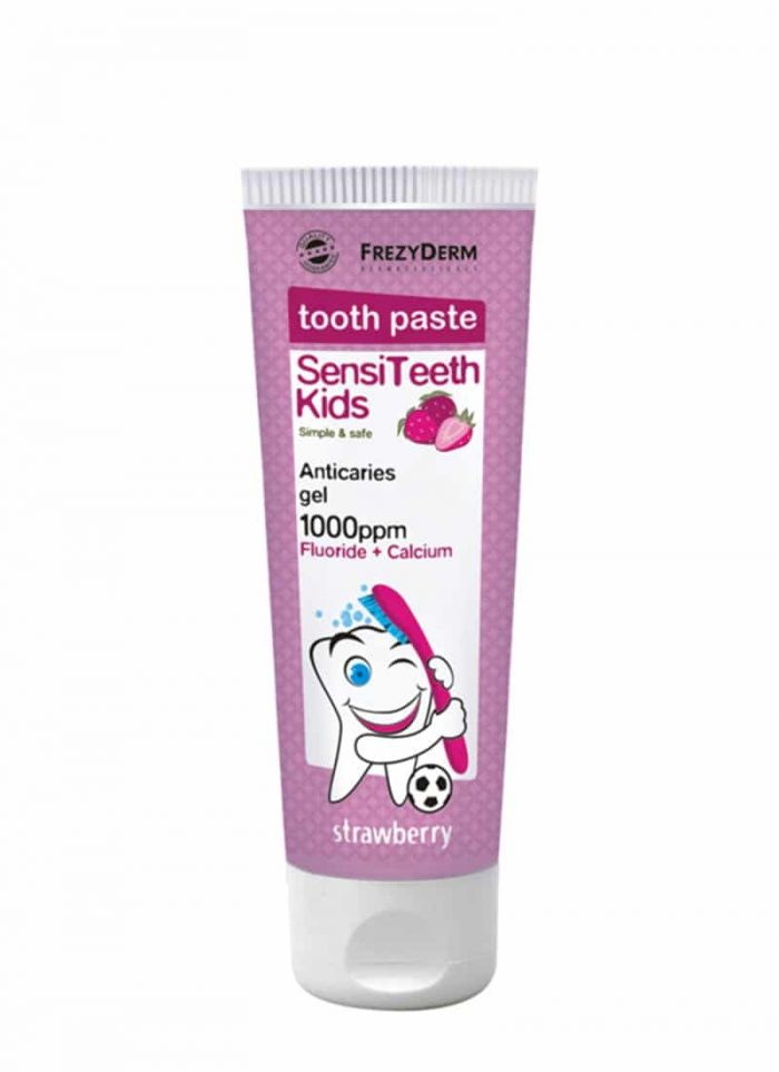 Frezyderm Sensiteeth Kids Toothpaste 1000ppm / Παιδική Οδοντόκρεμα 50ml