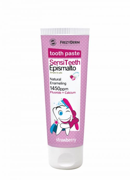 Frezyderm Sensiteeth Epismalto Toothpaste 1.450ppm / Παιδική Οδοντόκρεμα 50ml