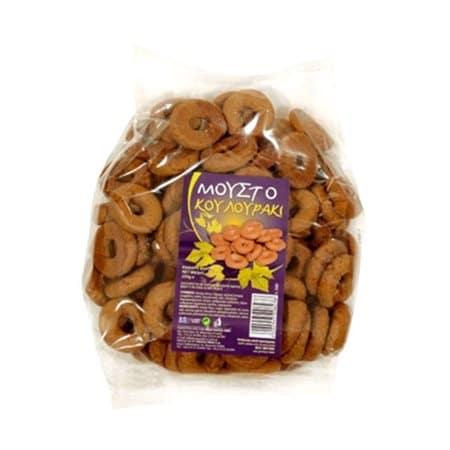 Pappa Grape Must Biscuits (Moustokouloura) / Παππά Μουστοκουλουράκι 250g