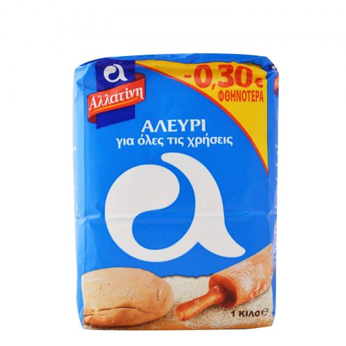 Allatini All-Purpose Flour / Αλεύρι όλων των Χρήσεων 1Kg