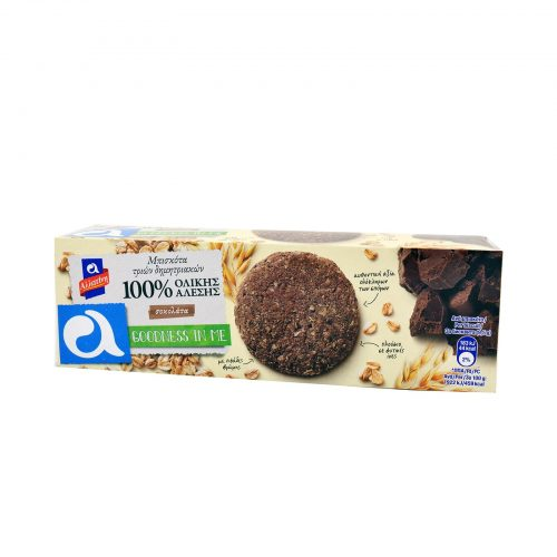 Allatini Biscuits with Chocolate / Αλλατίνη Μπισκότα Goodness In Me Με Σοκολάτα 220g