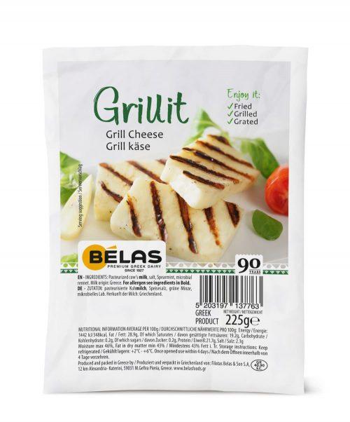 Belas Grill Gheese Vermiou / Μπέλας Ελληνικό Τυρί Βερμίου για Ψήσιμο 225g
