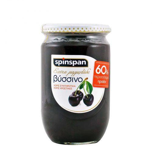 Spin Span Jam Sour Cherry / Μαρμελάδα Βύσσινο 600g