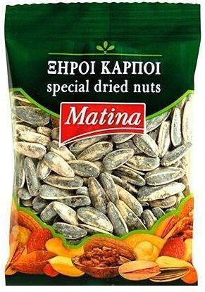Matina Roasted Sunflower Seeds / Ηλιόσπορος Αλατισμένος 100g