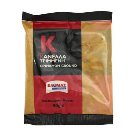 Elomas Ground Cinnamon / Ελομας Κανέλλα Τριμμένη 50g