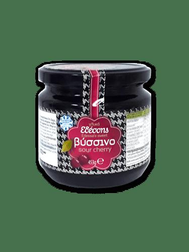 Edessis Preserves Sour Cherry / Εδέσσης Γλυκό κουταλιού Βύσσινο 453g