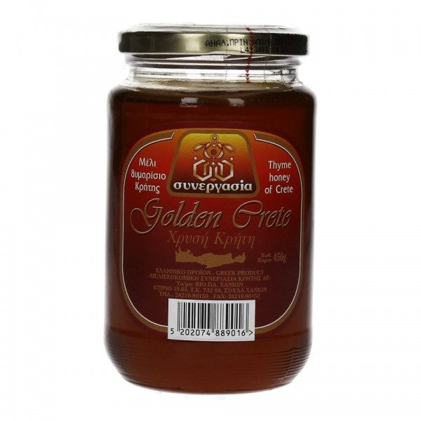 Θυμαρίσιο Μέλι 450g Χρυσή Κρήτη