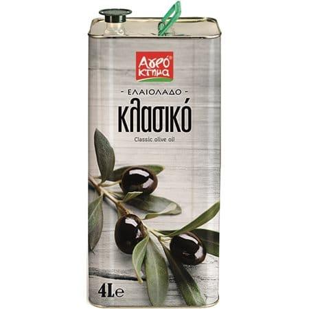 Agroktima Olive Oil Classic / Αγρόκτημα Ελαιόλαδο Κλασικό 4L