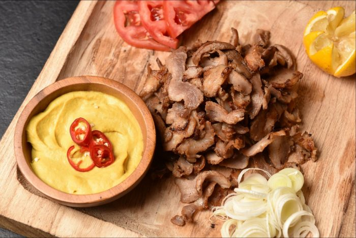 Grilled Pork Giros / Γύρος Χοιρινός Προψημένος 500g