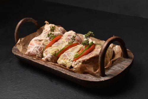 Greek Pork Kontosouvli / Κοντοσούβλι Χοιρινό