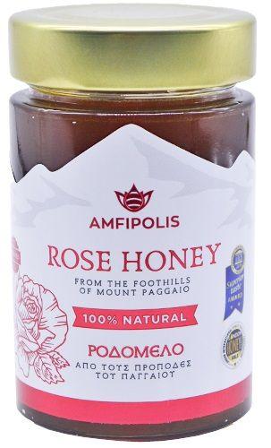 Amfipolis Rose Honey / Αμφίπολης Ροδόμελο 250g