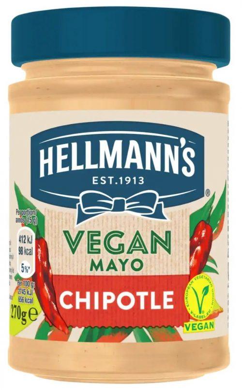 Hellman's Vegan Mayonnaise with Hot Pepper / Μαγιονέζα με Καυτερή Πιπεριά 270g