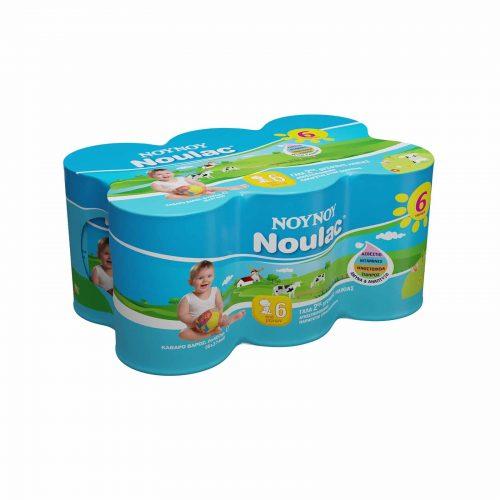 Noynoy Noulac Prebiotic / Γάλα 2ης Βρεφικής Ηλικίας Συμπυκνωμένο (6x400g)