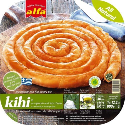 Kihi-spinach-feta-round-pie-filo