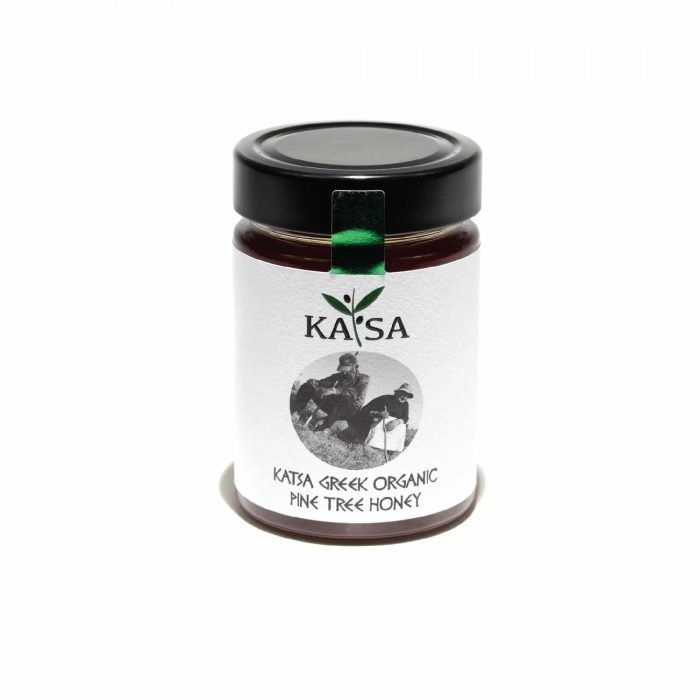 Greek Organic Pine Honey