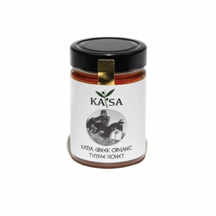 Greek Organic Thyme Honey