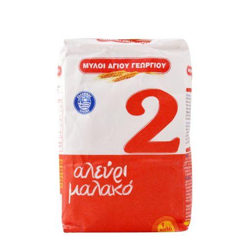 Myloi Agiou Georgiou Flour N2 / Αλεύρι Μαλακό 1Kg