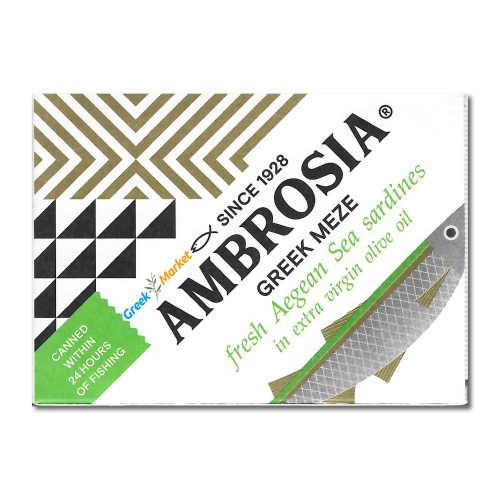 ambrosia greek meze sardines
