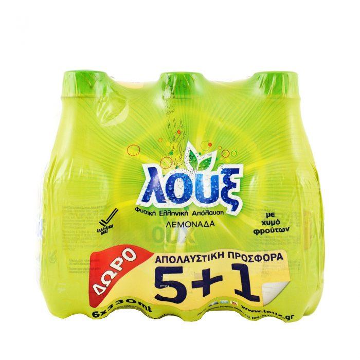 Loux Lemon juice / Λεμονάδα (5+1 Free) 330ml