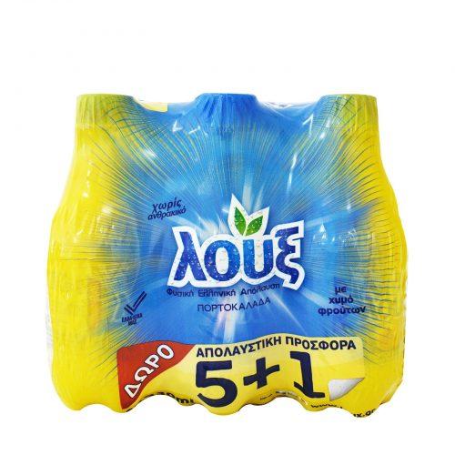 Loux still Orange juice / Πορτοκαλάδα Μπλε (5+1 Free) 330ml