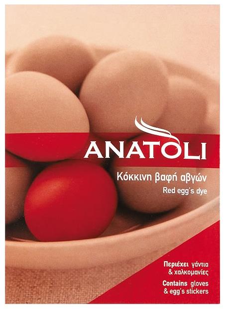 Anatoli Red egg's dye / Κόκκινη Βαφή Αυγών