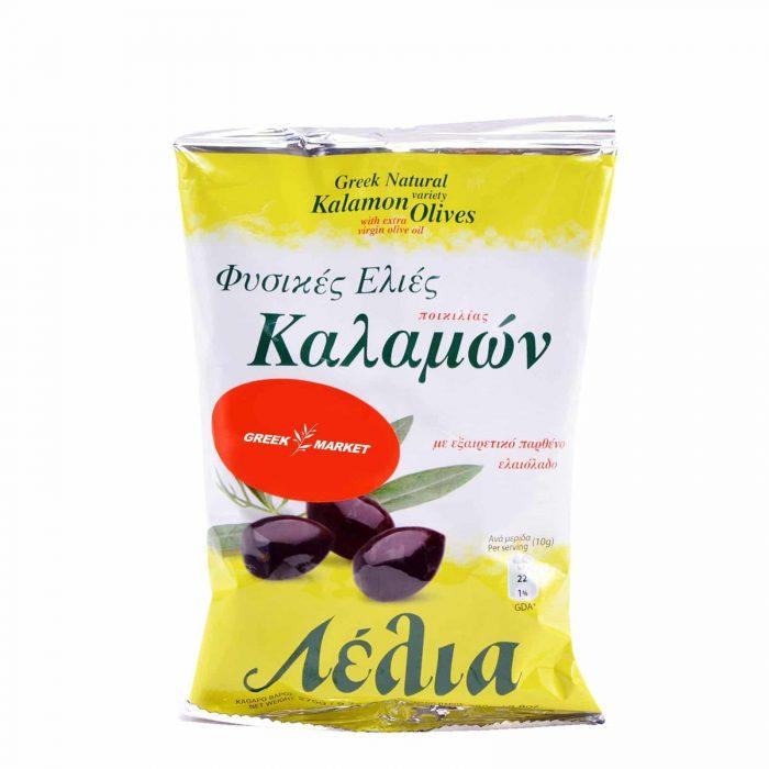 Lelia Kalamata Olives / Λέλια Ελιές Καλαμών 250g bag