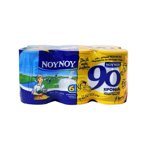 Gala Nounou NoyNoy Evaporated Milk / Γάλα Εβαπορέ 6x400g
