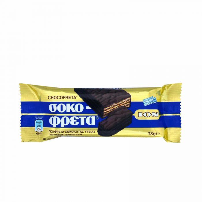 Ion Sokofreta Dark Chocolate / Σοκοφρέτα με Σοκολάτα Υγείας 38g