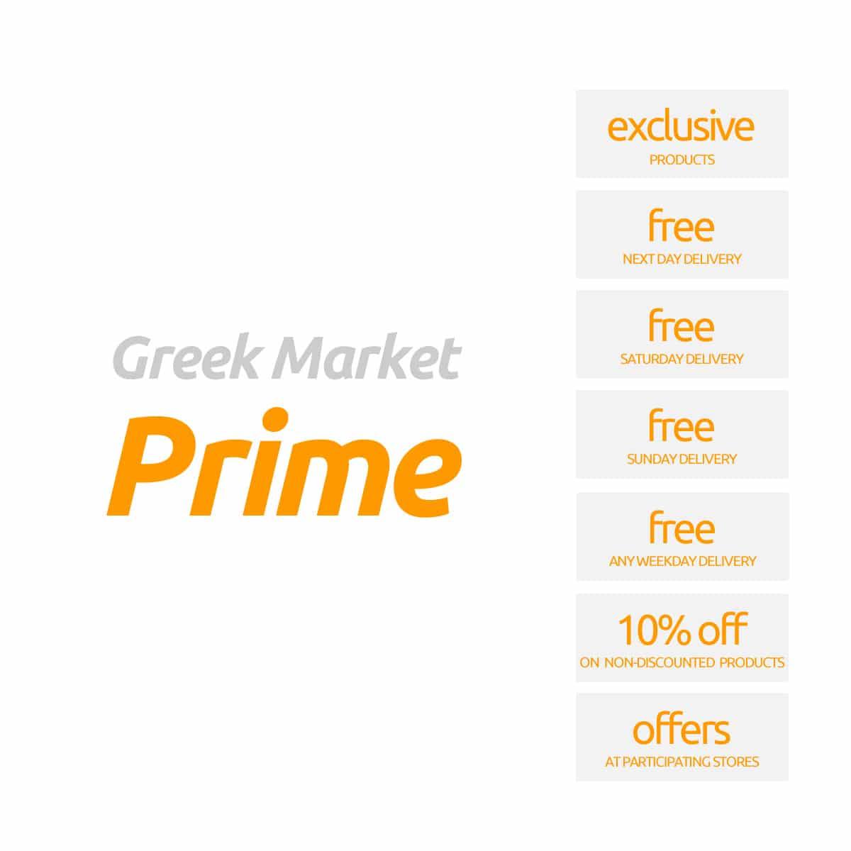 Greek Market Prime Membership
