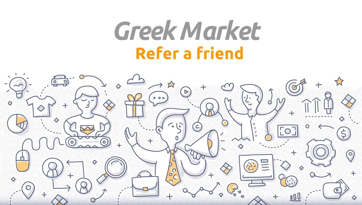 Refer A Friend to Greek Market
