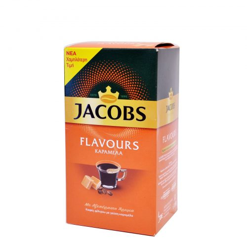 Jacobs Flavours Filter Coffee Caramel / Καφές Φίλτρου Καραμέλα 250g