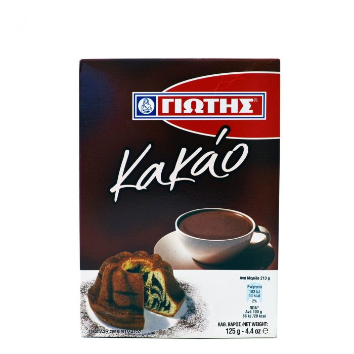 Jotis Cocoa / Γιώτης Κακάο σε σκόνη 125g