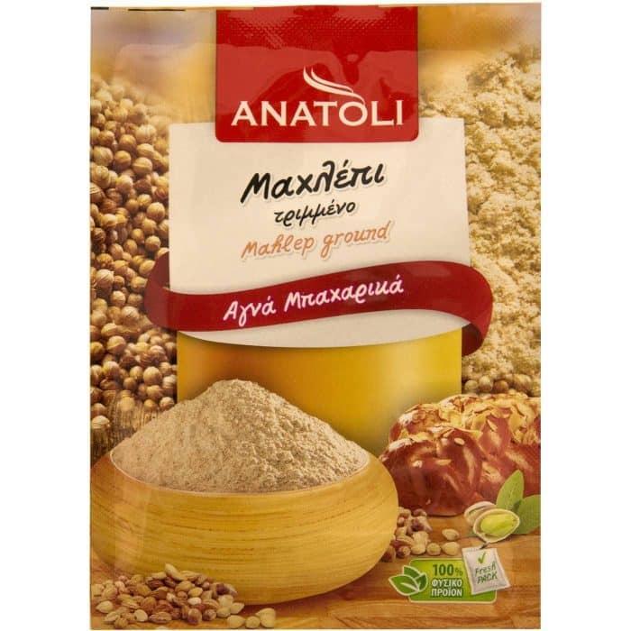 Anatoli Ground Mahlepi / Ανατολή Μαχλέπι Τριμμένο 8g